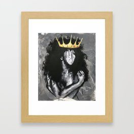 Naturally Queen IV Framed Art Print