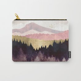 Plum Forest Carry-All Pouch