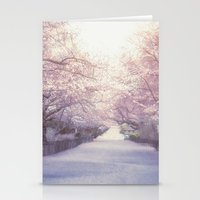 central park Stationery Cards featuring Central Park by Vivienne Gucwa