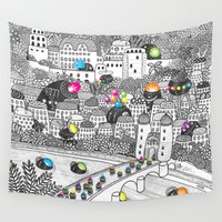 germany Wall Tapestries featuring Locals Only - Heidelberg, Germany by Heiko Windisch