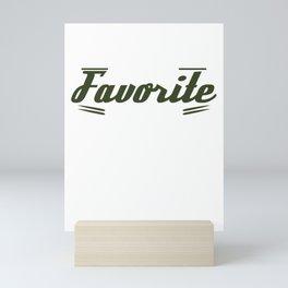 Cute & lovely Admirer Tee Design Daydream Mini Art Print