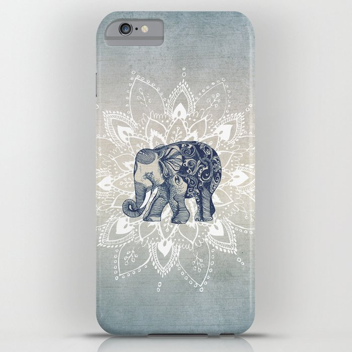 elephant mandala iphone case
