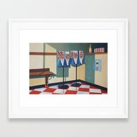 gumball Framed Art Prints featuring Gumball Machines  by Lety Garcia