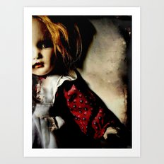 Old Doll 8-21-2007 015 Art Print