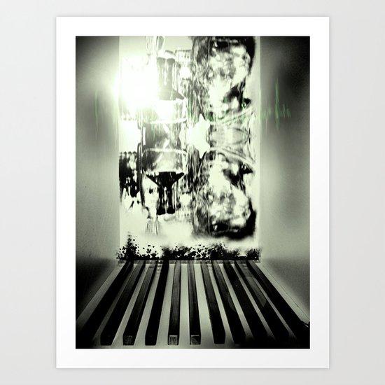 6 Art Print