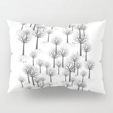 Winter Forest - Bunnies and Hound / by Friztin Pillow Sham