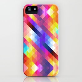 HIPSTER GEOMETRY iPhone Case