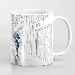 The umbrella man Coffee Mug