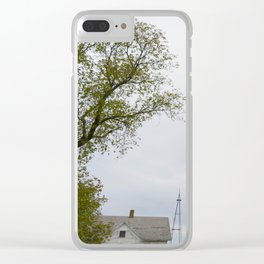 Birds on Bechtel Clear iPhone Case