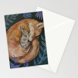 What Do the Fox & Hare Dream? Stationery Cards