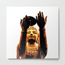 Offering of the Six Devas (Fruit) Metal Print