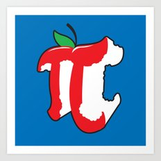 Apple Pi Art Print