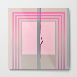In the Pink - pink graphic Metal Print