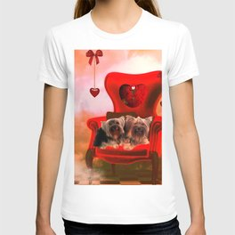 Cute little Yorkshire Terrier T-shirt