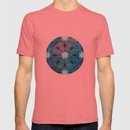 Water Lily Pattern T-shirt