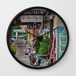 Antique Shops Wall Clock