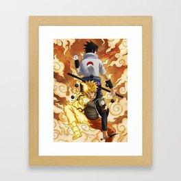 Six Paths Yang Jutsu Framed Art Print