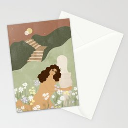 Dreaming of perfect man Stationery Cards