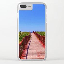 Santa Maria Del Mar Clear iPhone Case