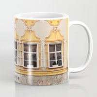 mozart Mugs featuring Mozart Residence  by Laura Ruth