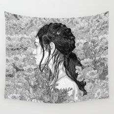 Love is in Beauty and Chaos Wall Tapestry
