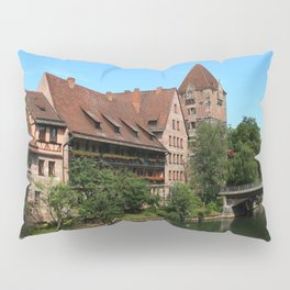 At The Pregnitz - Nuremberg Pillow Sham