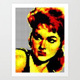 Queen of Lydia Art Print