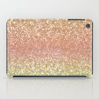 champagne iPad Cases featuring Champagne Shimmer by Lisa Argyropoulos