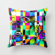 Cubist / Marilyn Pop Art Throw Pillow