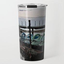 Abandoned Amusements (Swans) Travel Mug