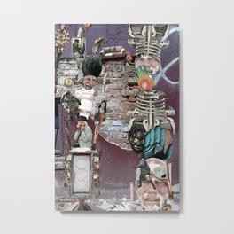 Image Trash Metal Print