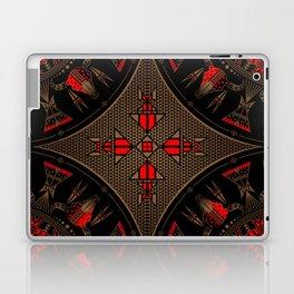 buffalo gathering Red Laptop & iPad Skin