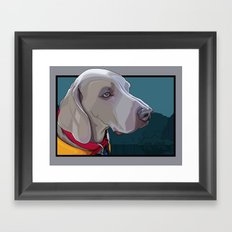 Jake Dog Framed Art Print
