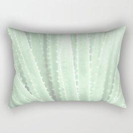 """Green Agave"" by Murray Bolesta! Rectangular Pillow"