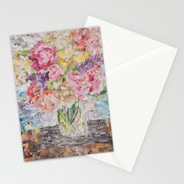 garden bouquet Stationery Cards