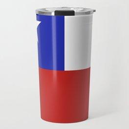 Chile flag emblem Travel Mug