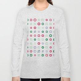 RAND SHAPES #7: Procedural Art Long Sleeve T-shirt