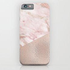Gently golden - rose gold adorns iPhone 6 Slim Case