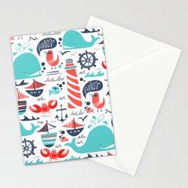 Ahoy Matey Stationery Cards
