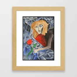 The Shock Framed Art Print