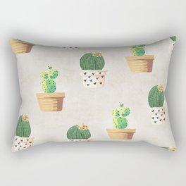 Concrete - Cactus Wall Rectangular Pillow