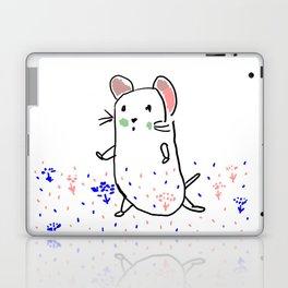 A hamster in a meadow Laptop & iPad Skin