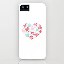 Valentines Day Heart #11 - Branches Hearts iPhone Case