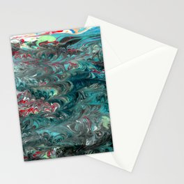 Forest in the sea Stationery Cards