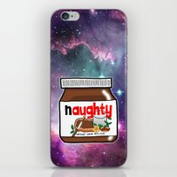 nutella iPhone & iPod Skins featuring NAUGHTY NUTELLA by SteffiMetal