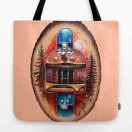 My Body is a Cage Tote Bag