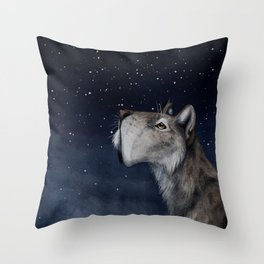 Unanswered Throw Pillow