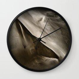 Albany Sand Dunes Wall Clock