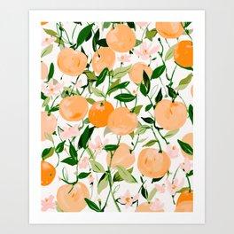 Spring Clementines Art Print