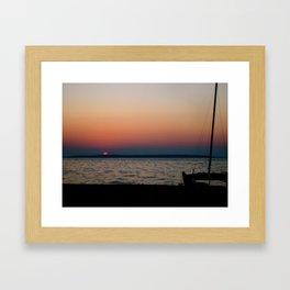 Lovely Sunset Framed Art Print